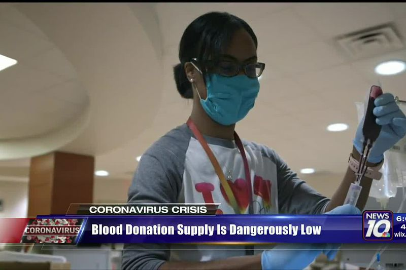 Blood donation supply is dangerously low