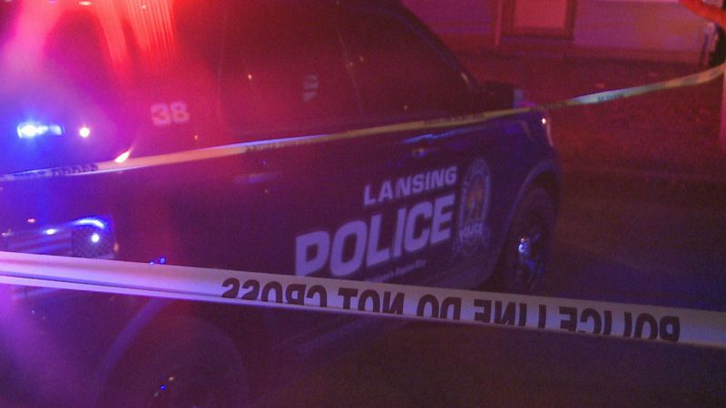 Lansing police responded to a call of a shooting on North Fairview Avenue Saturday that left...