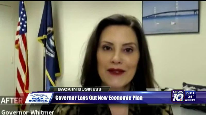 Governor lays out new economic plan