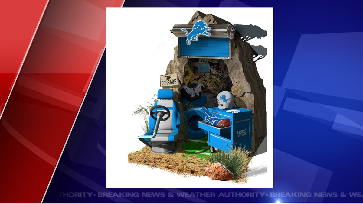 According to the press release, the Lions dwelling is called: Motor City Serengeti and...