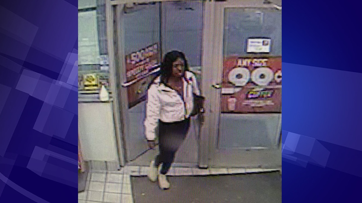 Police want to talk to her about a fraudulent $500 transaction on Nov. 23. (Source: DeWitt Township Police)