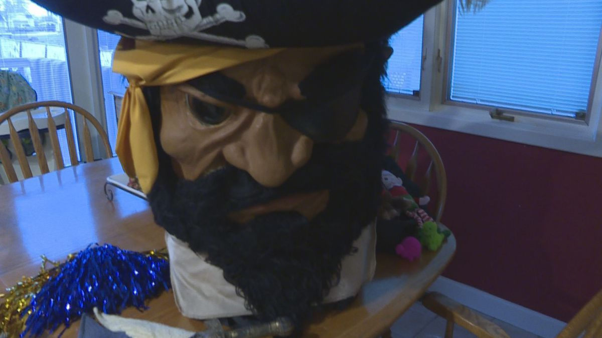 The infamous Pirate Pete of Pewamo-Westphalia will be making his way to Ford Field Saturday morning. (Source: WILX)