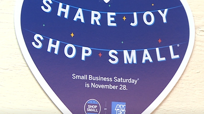 Support local businesses on Saturday, Nov. 28th.