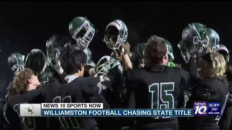 Williamston football chasing state title