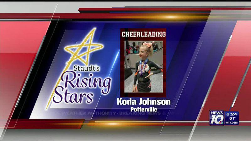Staudt's Rising Star: Koda Johnson