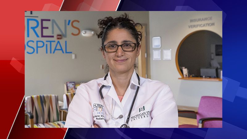 Dr. Mona Hanna-Attisha, a pediatrician and mom, will have her 12- and 15-year-old daughters...