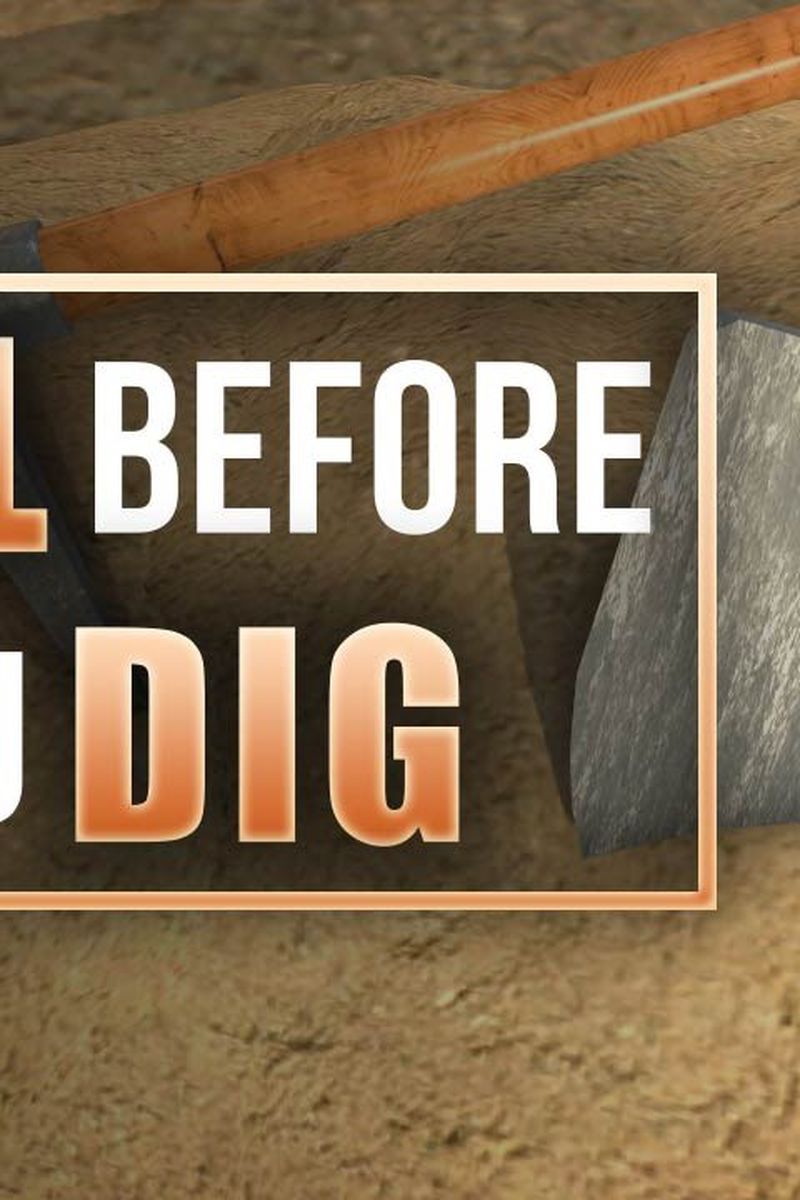 Remember To Call Miss Dig Before You Dig This Weekend The obby has missing platforms and may not be able to be completed as of 16th december. remember to call miss dig before you