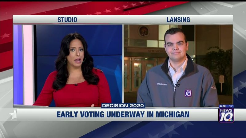 Early voting is underway in Michigan