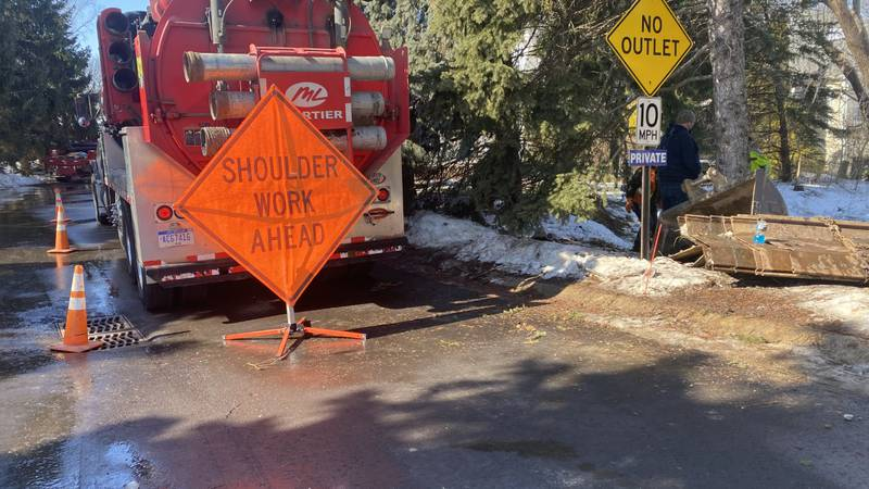 Work started this week to remedy the issue. The city believes they'll collect the majority of...