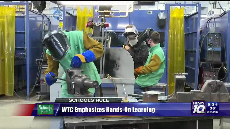 Wilson Talent Center emphasizes need for hands on learning.