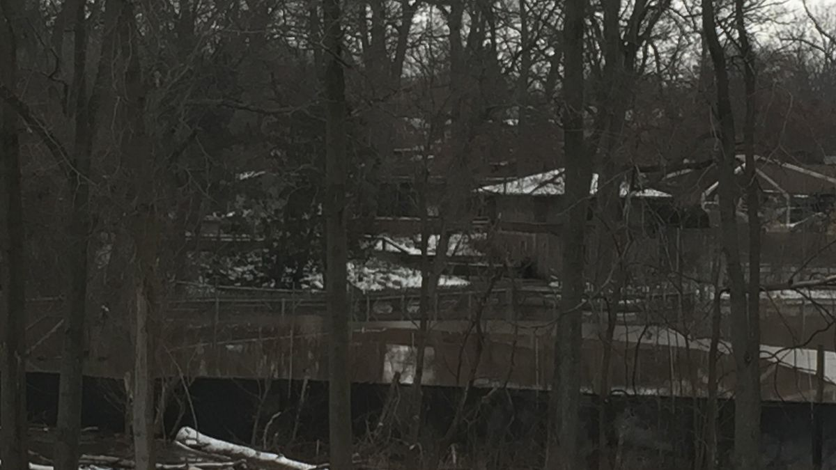 The zoo is closed to the public, they say as a precaution, due to flooding in the main parking lot.  (Source WILX)