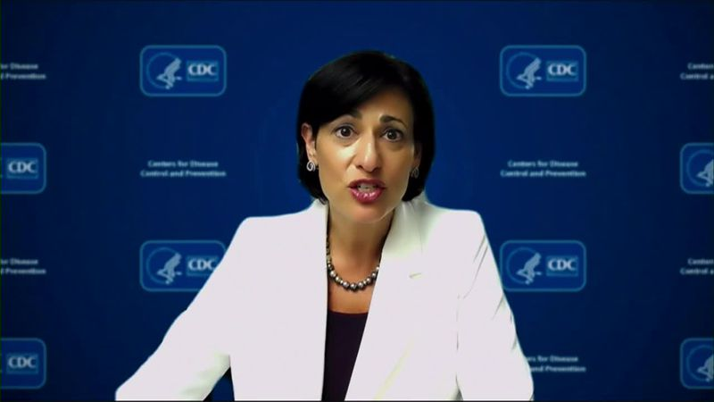 CDC director Dr. Rochelle Walensky discussed some of the long-term effects of COVID-19.