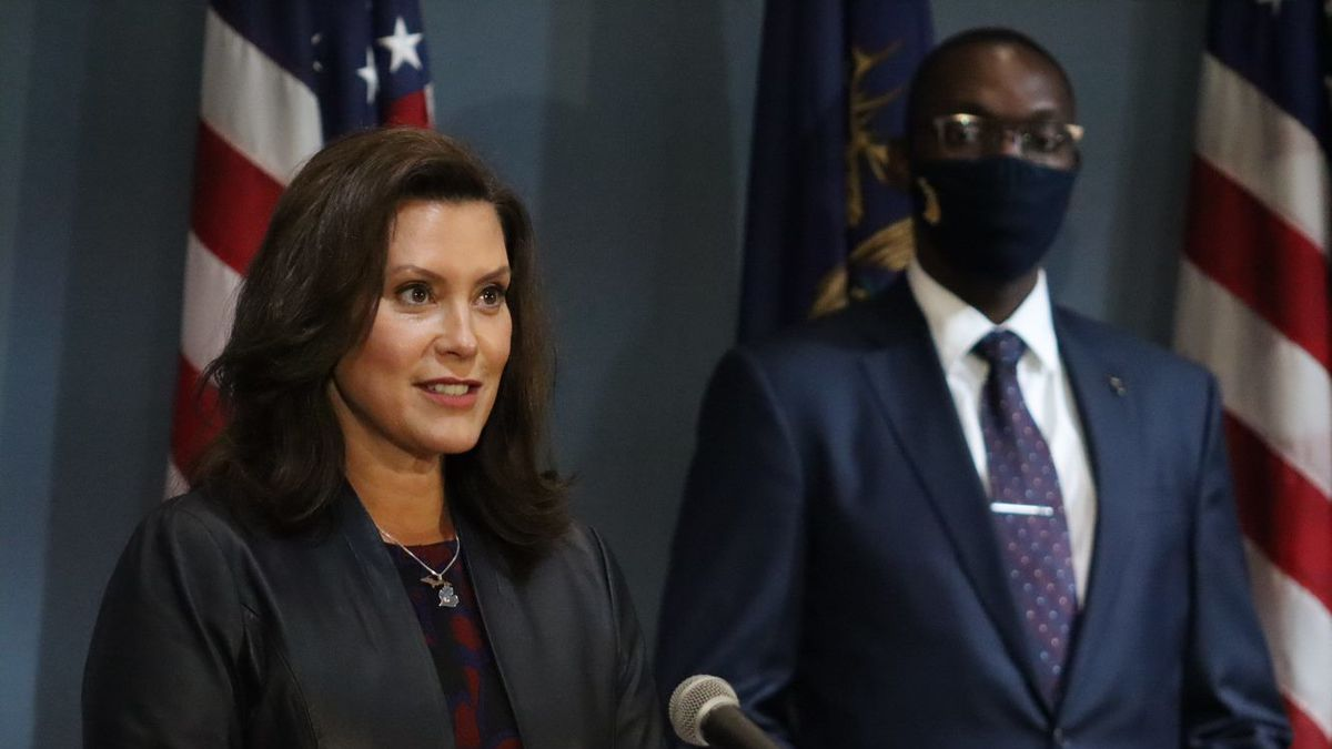 Governor Whitmer Will Hold A Press Virtual Conference At 10 A M