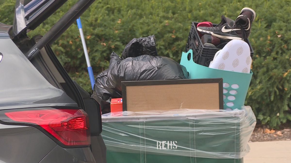 It was move in weekend for students at Michigan State University. However, only a small portion...