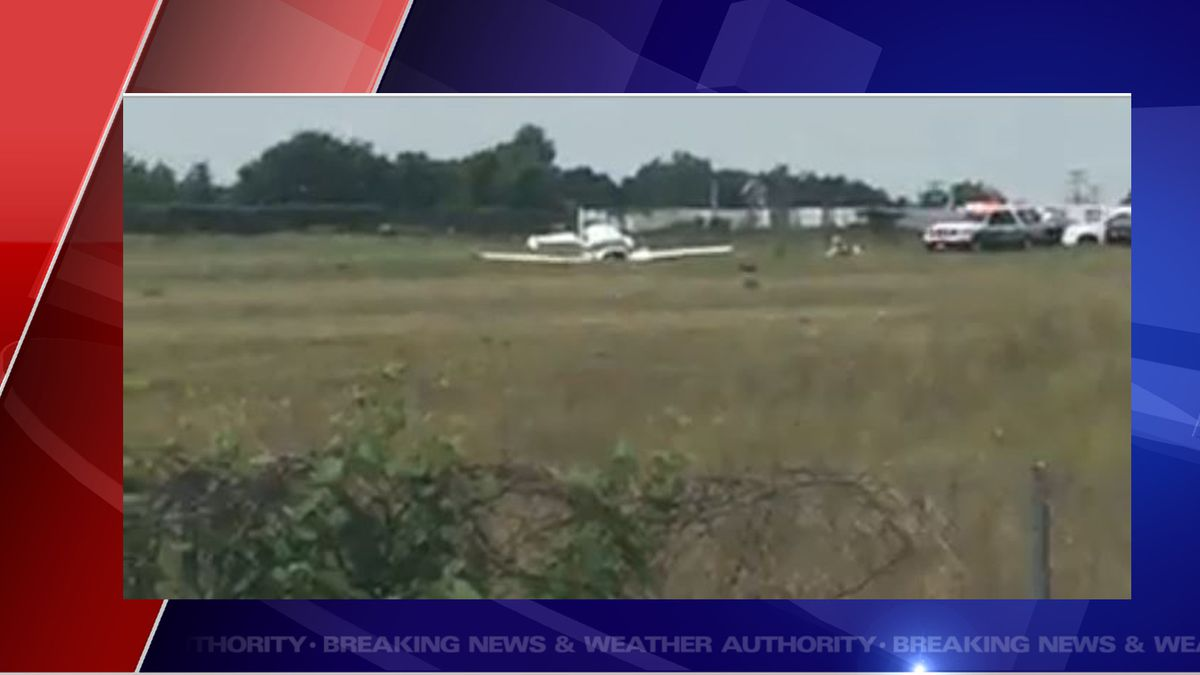 Livingston County Airport has confirmed a small plane has crashed on the side of the runway.   (Source WILX)