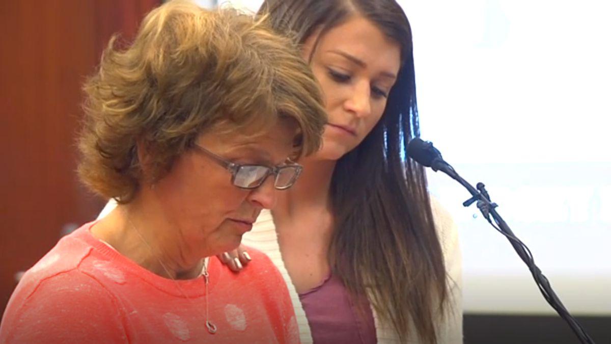 Lindsay Lemke at Nassar hearing.