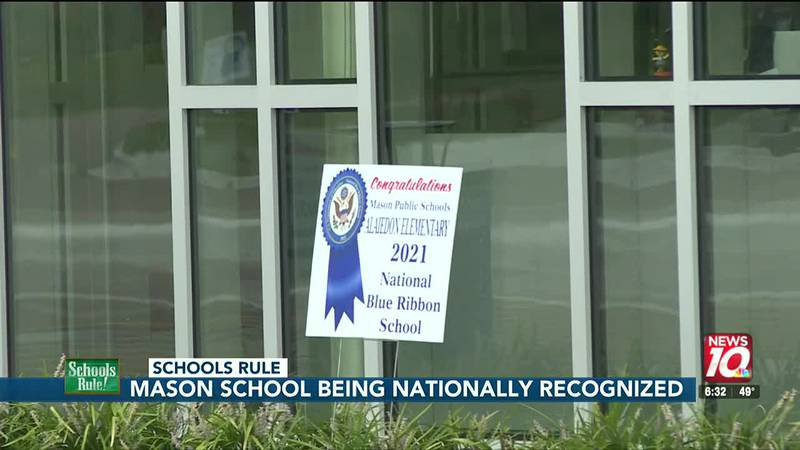 Mason elementary school receives national recognition