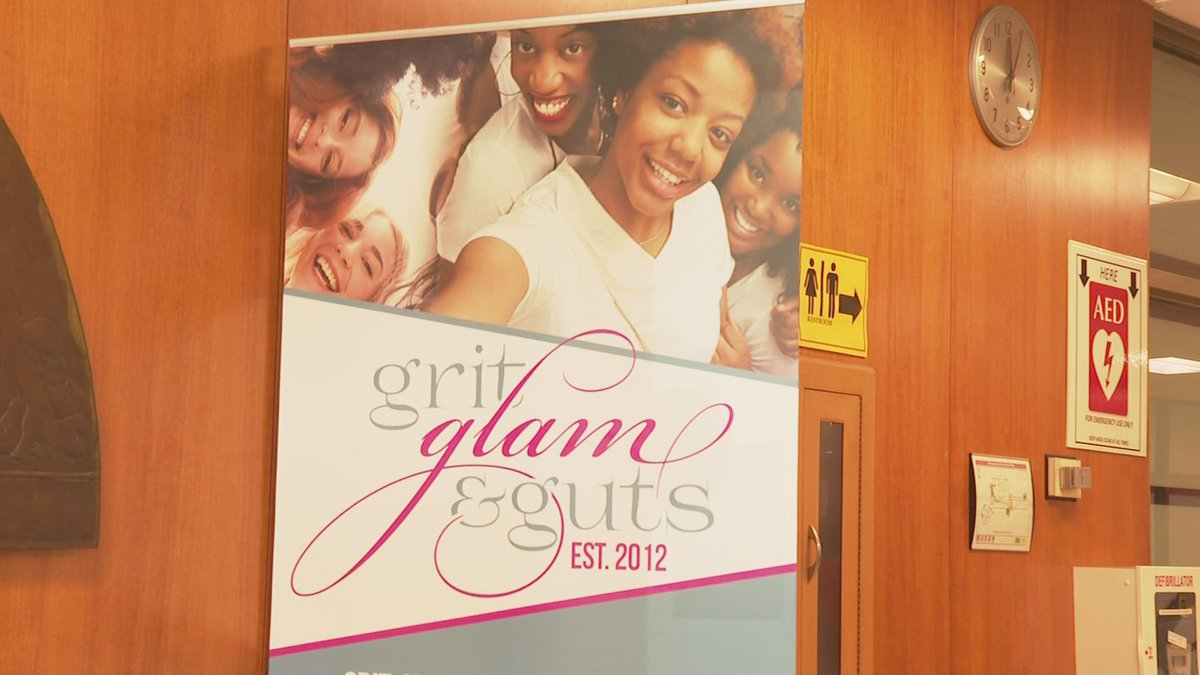 A statewide event called Grit, Glam and Guts had their annual event and their theme this year...