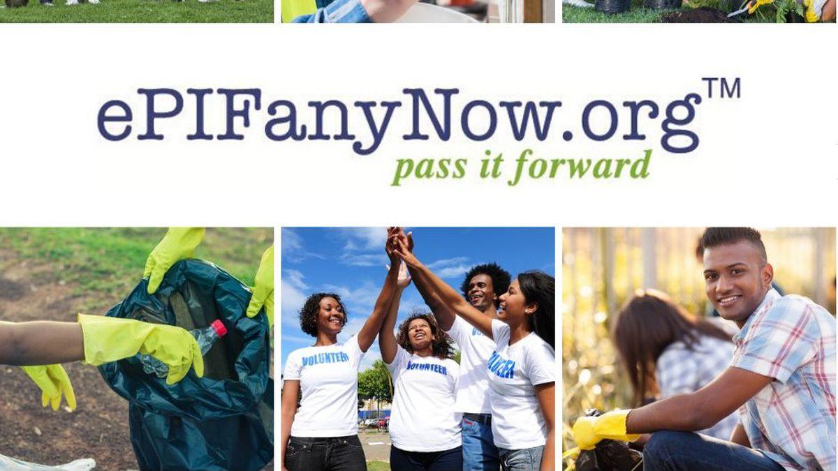 Non-profit recognizes youth service.