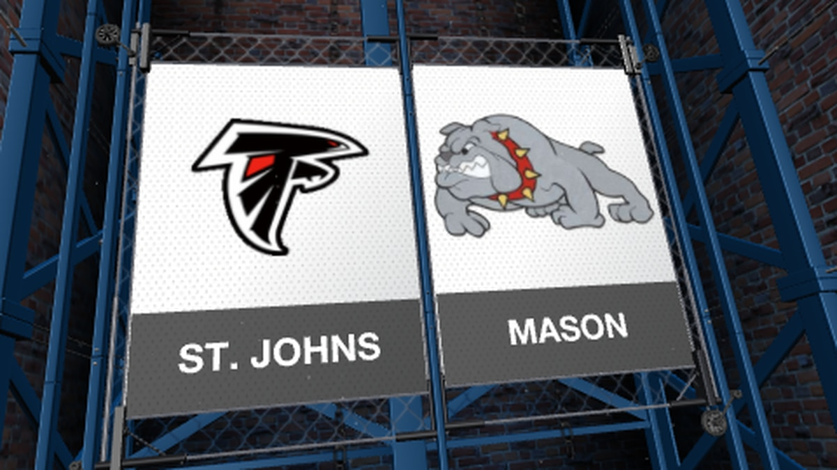 The Mason Bulldogs hosted the St. Johns Redwings on Friday