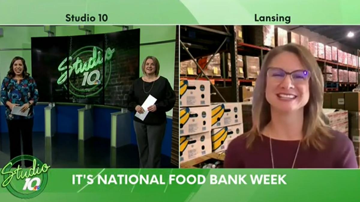 Celebrating National Food Bank Week with the Greater Lansing Food Bank