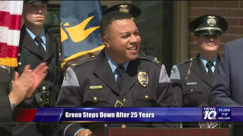 Community leaders say retiring Lansing Police Chief Green will leave a lasting legacy