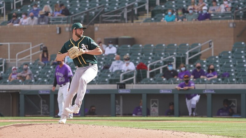 Jeff Criswell, one of the Oakland Athletics' top pitching prospects, is expected to start his...