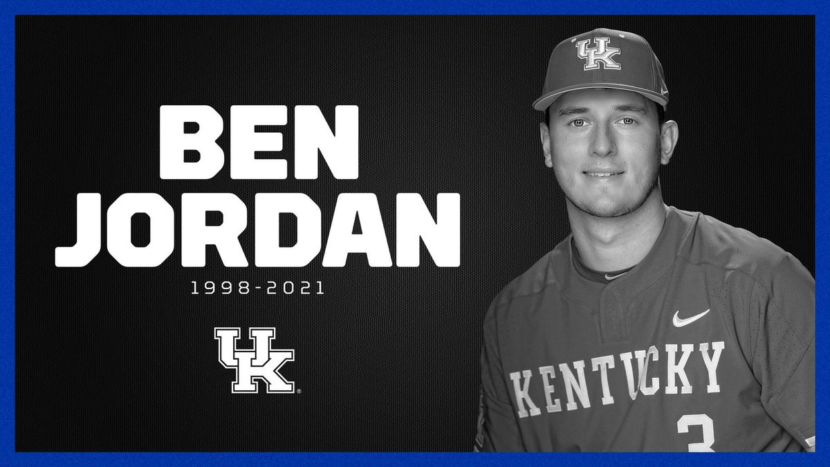 University of Kentucky baseball and basketball player Ben Jordan passed away Monday at the age...