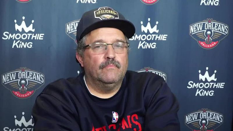 Pelicans head coach Stan Van Gundy year-end presser
