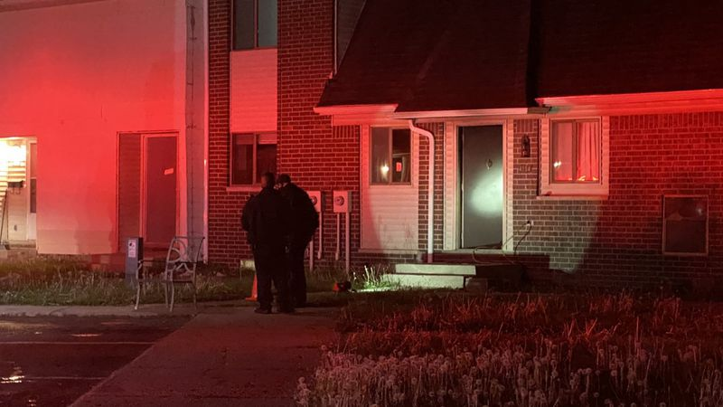 A fire was reported at Woodbridge Apartments early Wednesday morning.