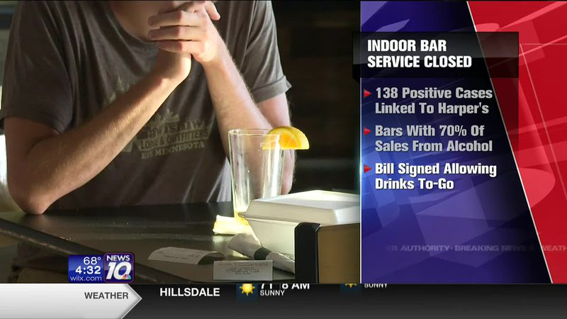 Some Michigan bars ordered closed after coronavirus outbreaks