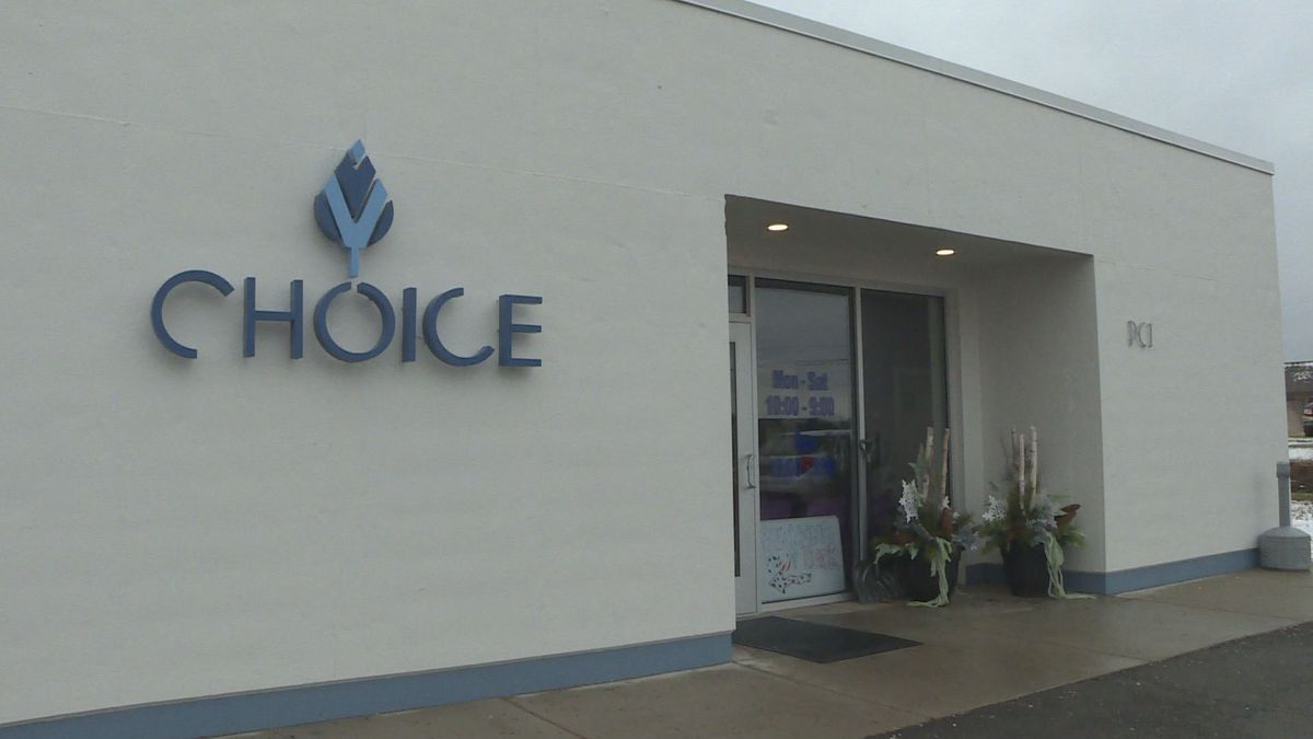 Choice Labs has sold medical marijuana for years but as Jackson's first recreational pot shop, they are working to keep up with the non-stop business. (Source: WILX)