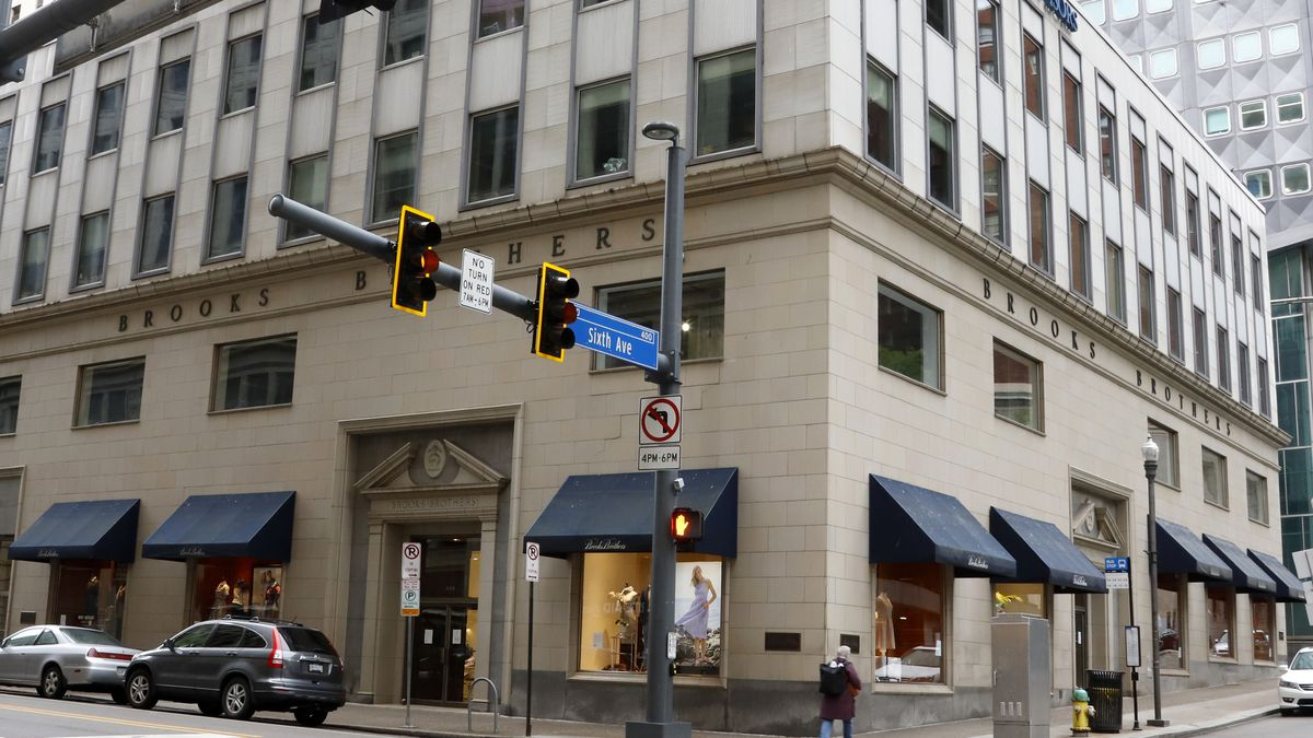 This is the Brooks Brothers store in Downtown Pittsburgh.