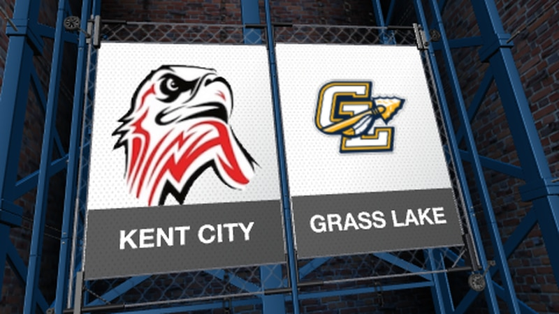 The Grass Lake Warriors beat Kent City in the Division 3 State Finals