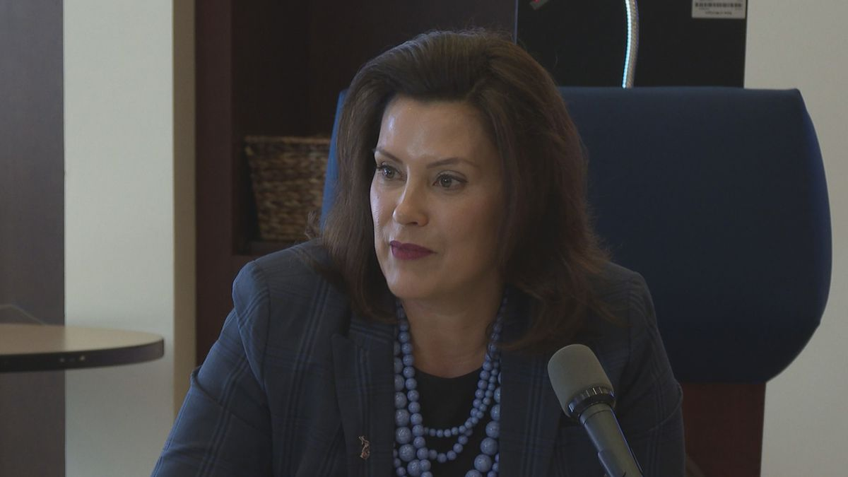 "Governor Gretchen Whitmer criticized the Legislature for taking a ""vacation""..."