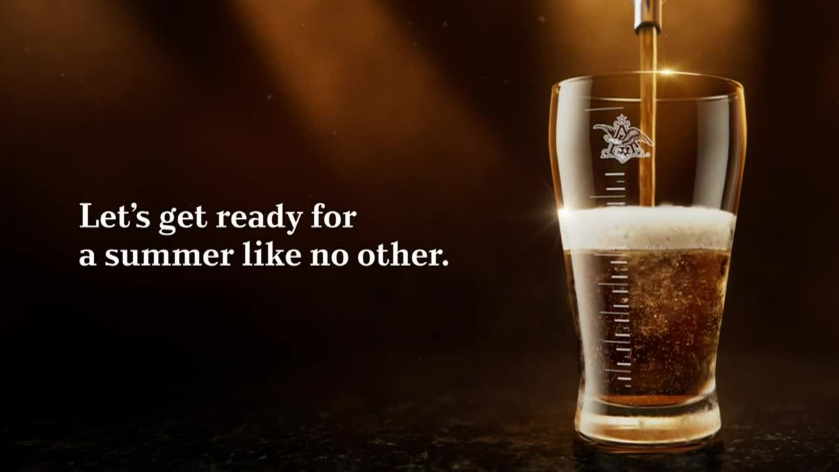 Anheuser-Busch announced Wednesday morning that it would 'buy Americans 21+ a round of beer'...