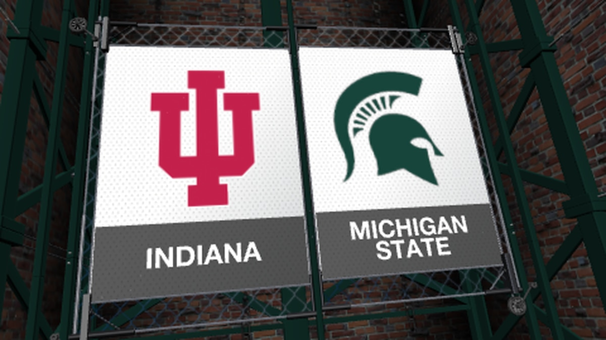 Michigan State's game against Indiana is postponed.