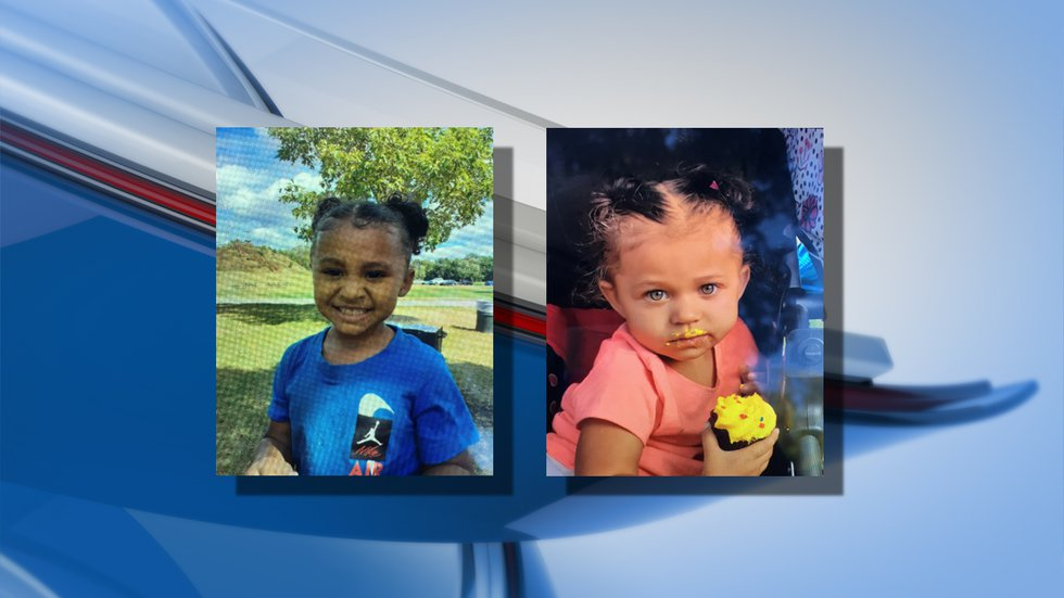 Police were able to locate the two missing girls, 4-year-old Zymani Reynolds (left) and...