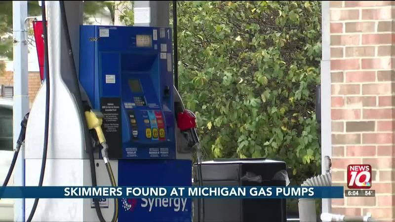 Skimmers found at Michigan gas pumps