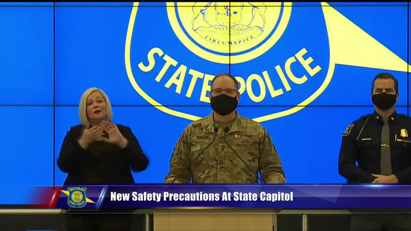 New safety precautions at the State Capitol