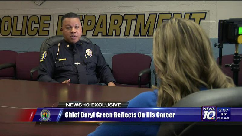 Chief Daryl Green reflects on his career