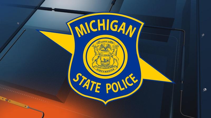 Michigan State Police logo.
