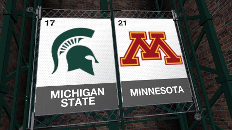 The Michigan State Spartans look to get back into the win column Monday night when they tip off...