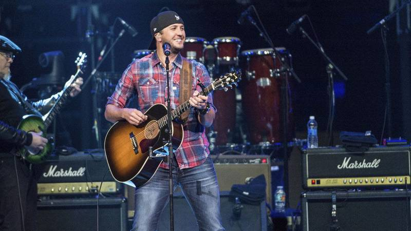 Luke Bryan performs in Nashville, Tenn. (Photo by Amy Harris/Invision/AP)