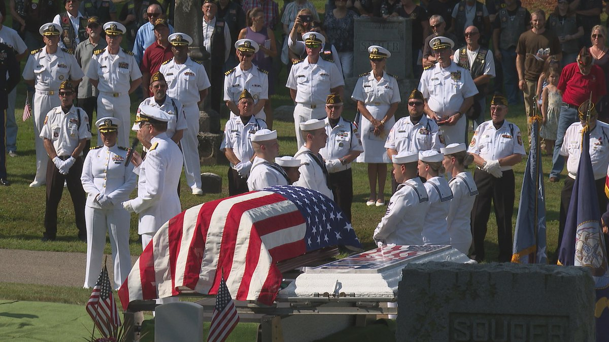 Flaherty laid to rest in Charlotte Michigan.