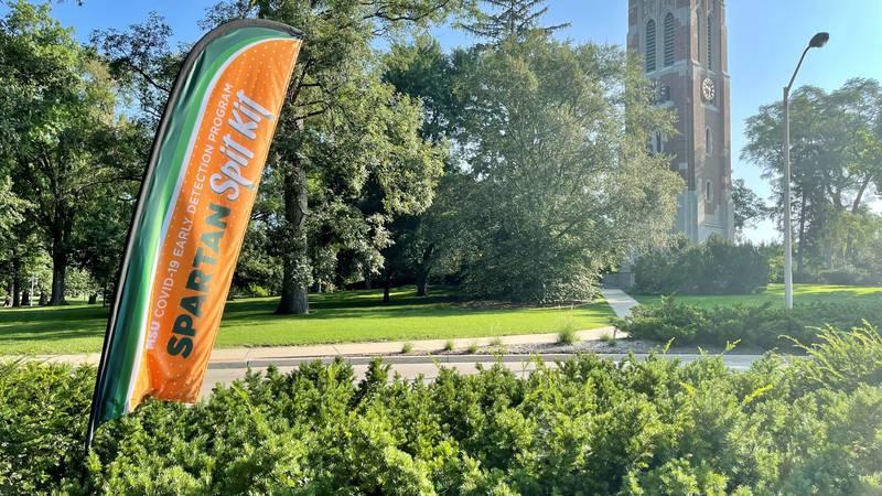 Despite vaccine and mask mandates, Michigan State University says it's working hard to make...