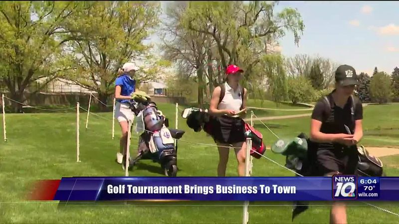 Golf Tournament Brings Business To Town
