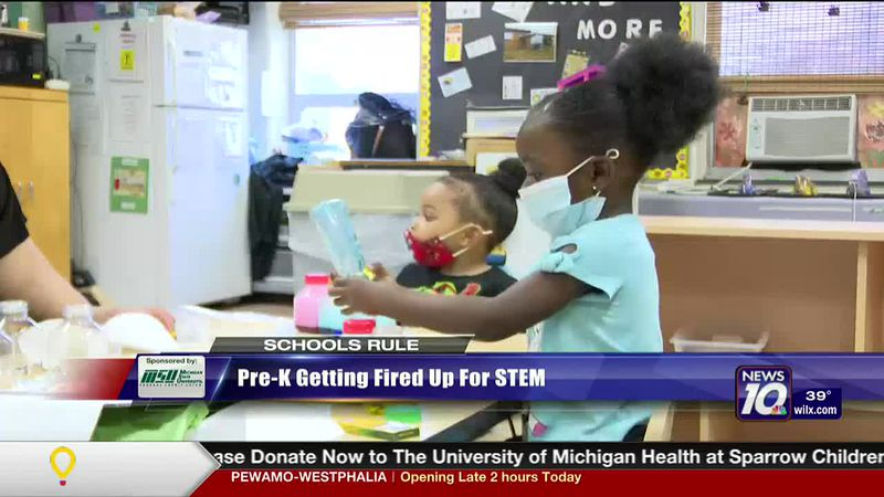 Preschoolers are getting fired up for STEM education.