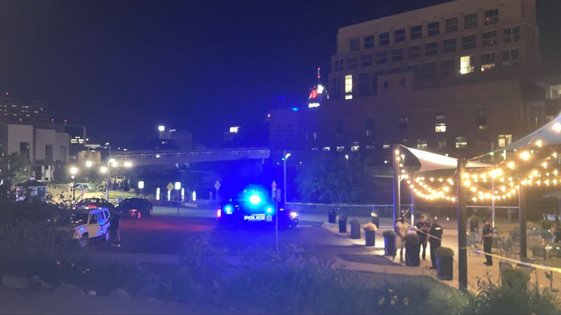 Police situation by Market Place Apartments on 6/14/21 at 1:30 a.m.