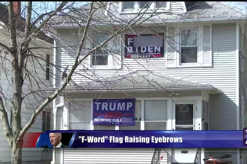 """F-Word"" flag raising eyebrows"